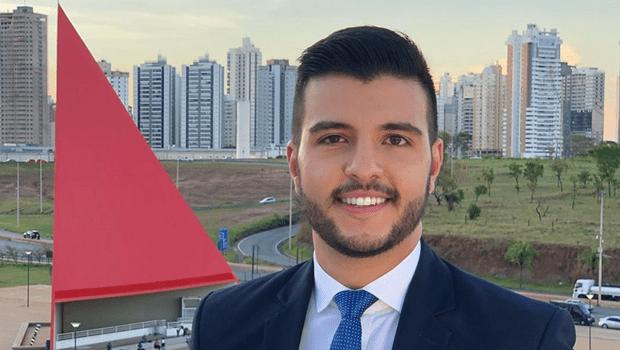 Câmara Municipal propõe título de cidadania goianiense ao jornalista Matheus Ribeiro