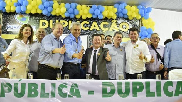 Em Porangatu, ministro da Infraestrutura assegura duplicação de rodovia entre Goiás e Tocantins