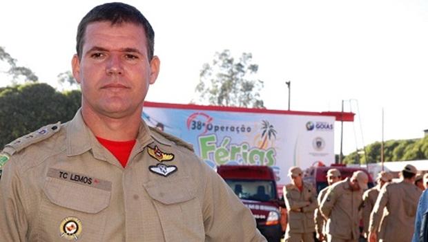 Caiado anuncia Coronel Esmeraldino novo comandante-geral dos Bombeiros e garante punição a envolvidos em esquema