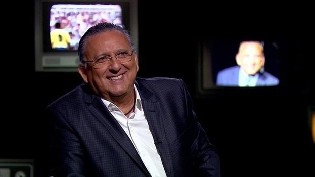 Após infarto, Galvão Bueno diz que vai passar mais tempo com a família