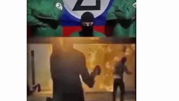 Grupo Integralista reivindica autoria de ataque à sede do Porta dos Fundos em vídeo. Veja