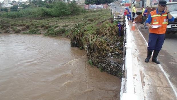 Defesa Civil faz alerta de chuvas intensas neste fim de semana, em Goiânia