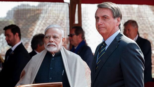 Brasil e Índia assinam acordos nas áreas de bioenergia, segurança e tecnologia