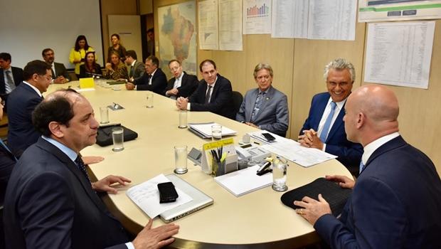 """""""Não podemos viver à custa de liminares do STF"""", diz Caiado ao defender programa de recuperação fiscal"""