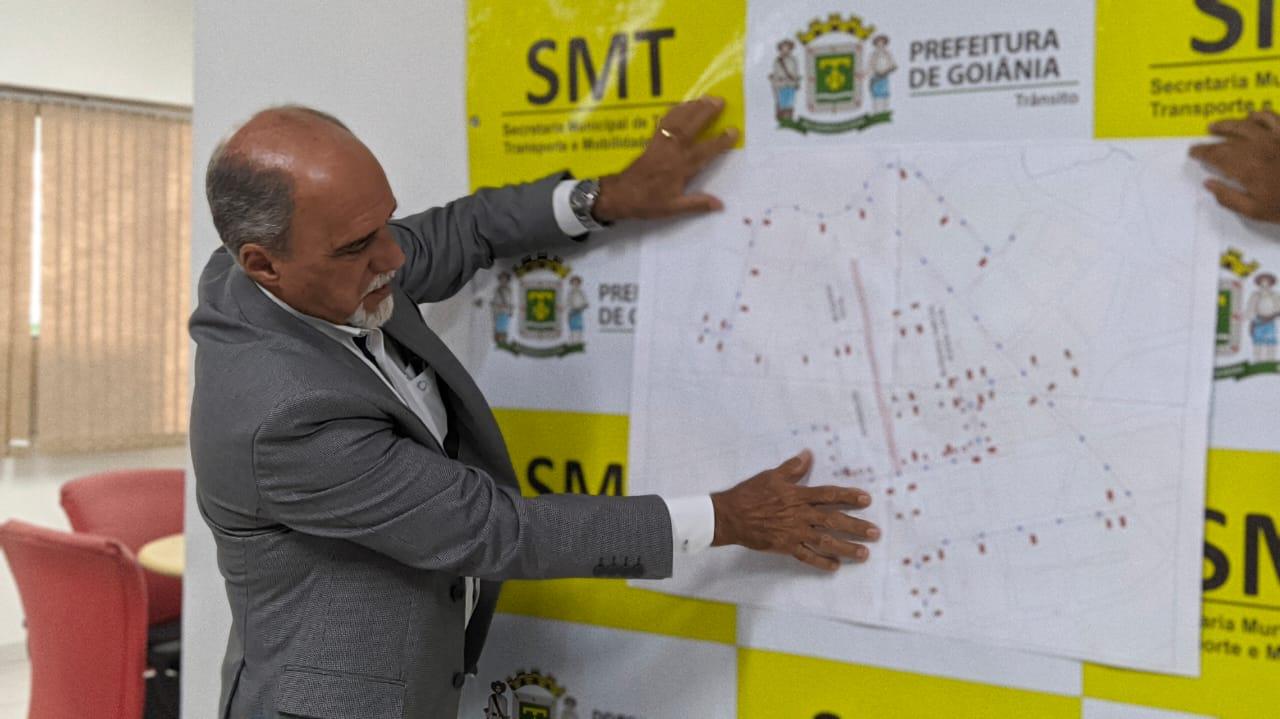"""""""Nós vamos ter intervenções até o fim do governo do prefeito Iris"""", diz secretário da SMT"""