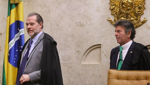 """Queda de braço entre Toffoli e Fux sobre juiz das garantias reforça ideia dos superministros do STF em """"Os Onze"""""""