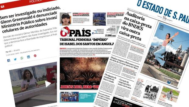 Comentando atualidades (portuguesas e brasileiras)