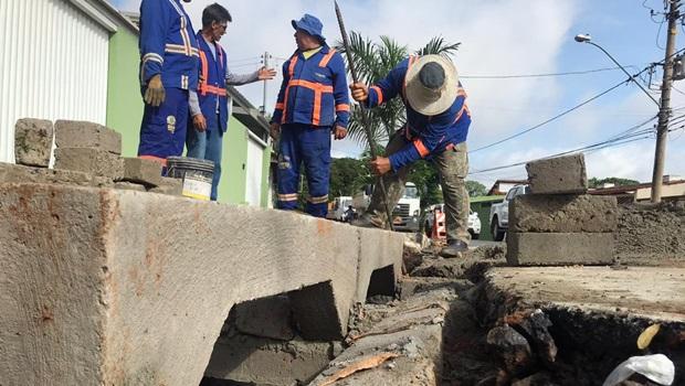 Obras de drenagem na região da Avenida Araguaia devem durar 45 dias