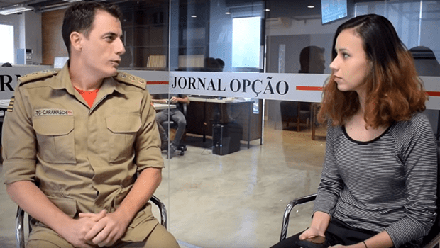 """""""Ainda vai ter chuvas em Goiânia, temos que ficar alerta"""" diz tenente coronel do Corpo de Bombeiros"""