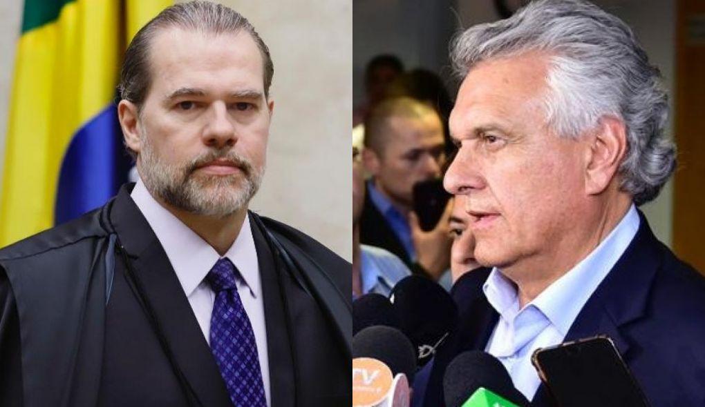 Caiado e Toffoli lançam programa Destrava, que irá retomar obras paralisadas em Goiás