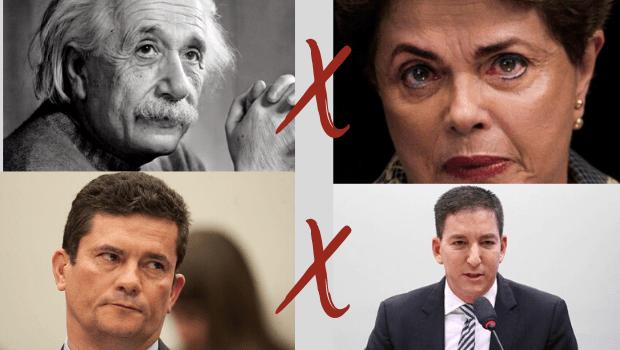 Imagine Dilma Roussef contestando Einstein em sua Teoria da Relatividade