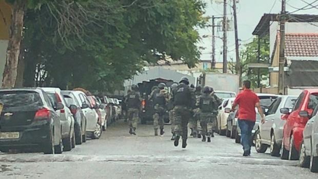 DGAP afirma que movimentação atípica na Penitenciária Odenir Guimarães é operação de rotina