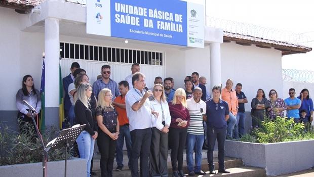 Prefeitura de Cidade Ocidental inaugura Unidade de Saúde