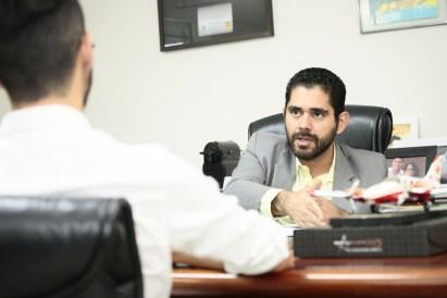 """Vice-governador teceu elogias a Marcos Abrão e disse que sua parceria é """"indiscutível"""""""