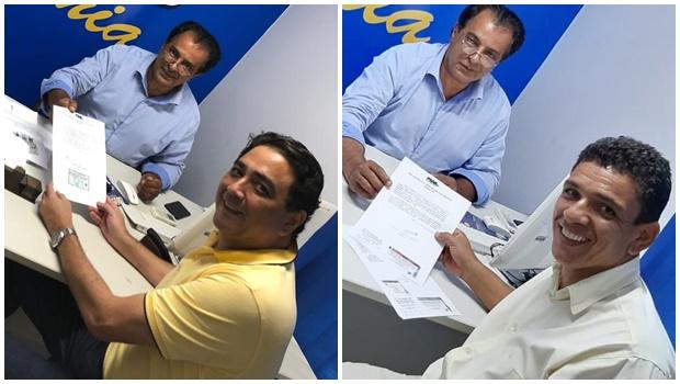 Tucanos Talles Barreto e Divino Damásio disputarão prévias para prefeitura de Goiânia