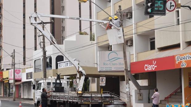 Prefeitura de Jatai desenvolve ações para economia de energia elétrica