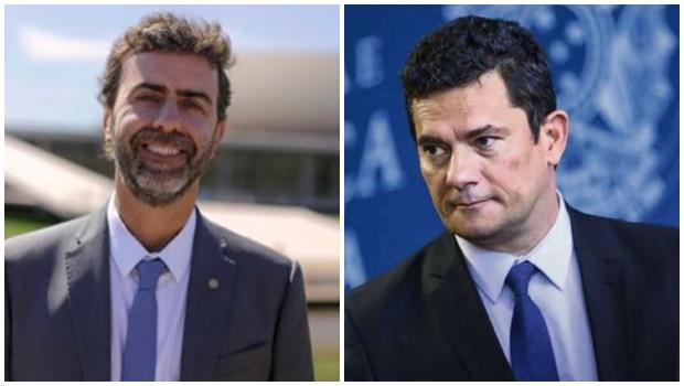 Moro entra no jogo político e troca acusações com Freixo nas redes sociais