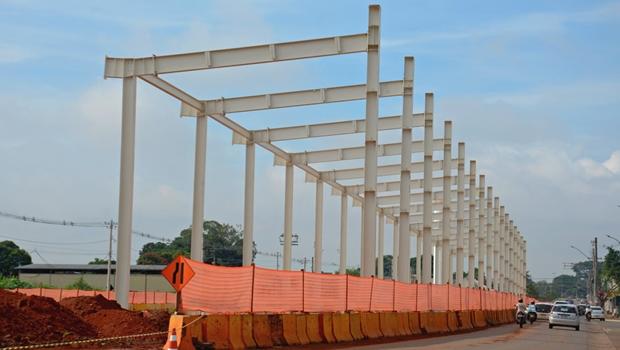 Obras dos terminais do BRT no trecho Norte estão em estágio avançado