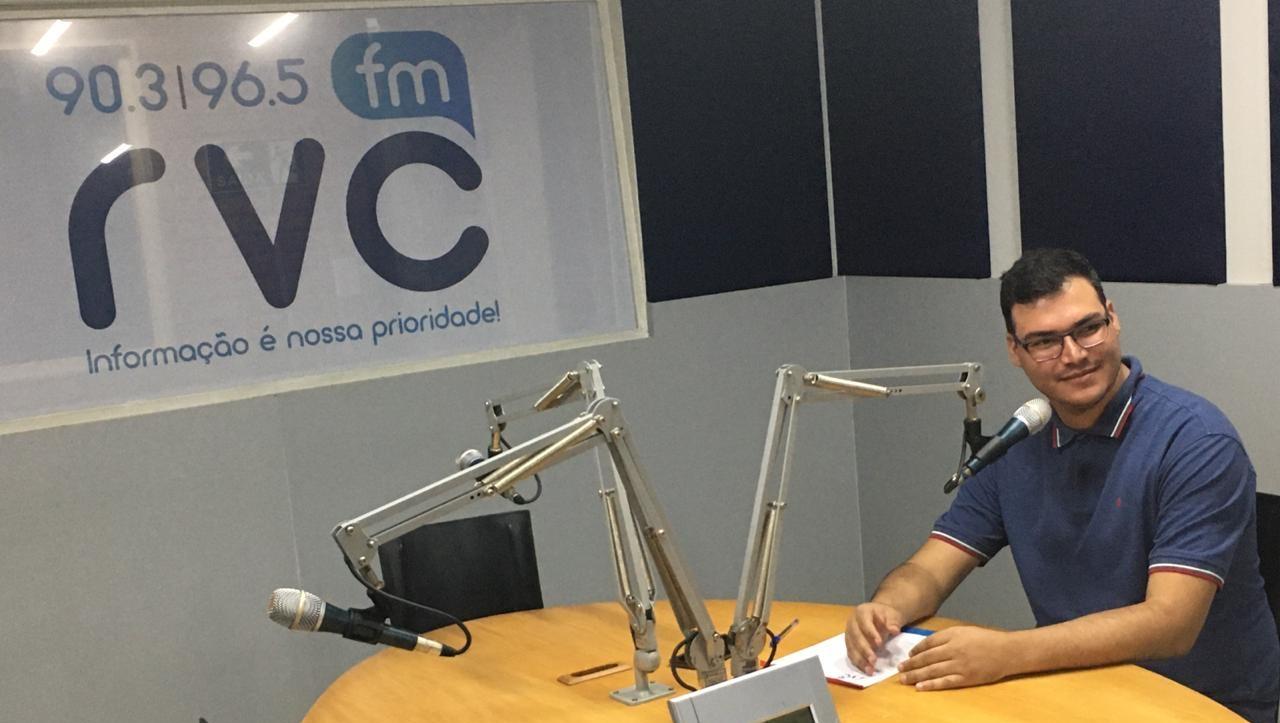 Diego Vieira assume coordenação da Rádio RVC FM, em Goianésia