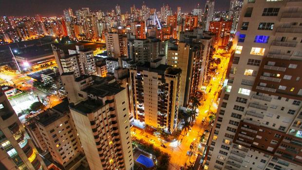 Com muitos prédios, cinco bairros concentram 36% dos casos de coronavírus em Goiânia