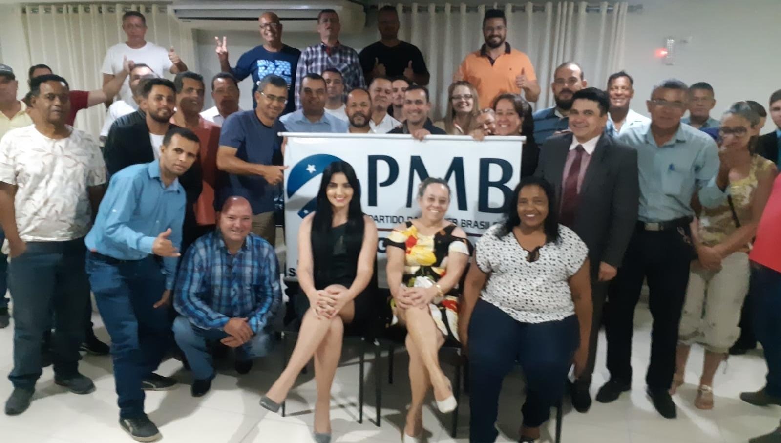PMB fecha chapa de candidatos a vereador e apoia Divino Lemes em Senador Canedo