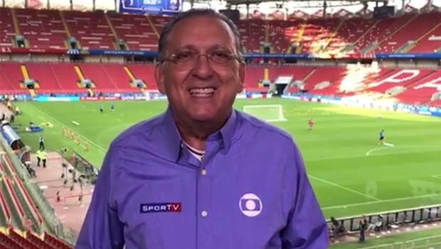 Justiça de São Paulo bloqueia contas de Galvão Bueno, narrador esportivo da Globo
