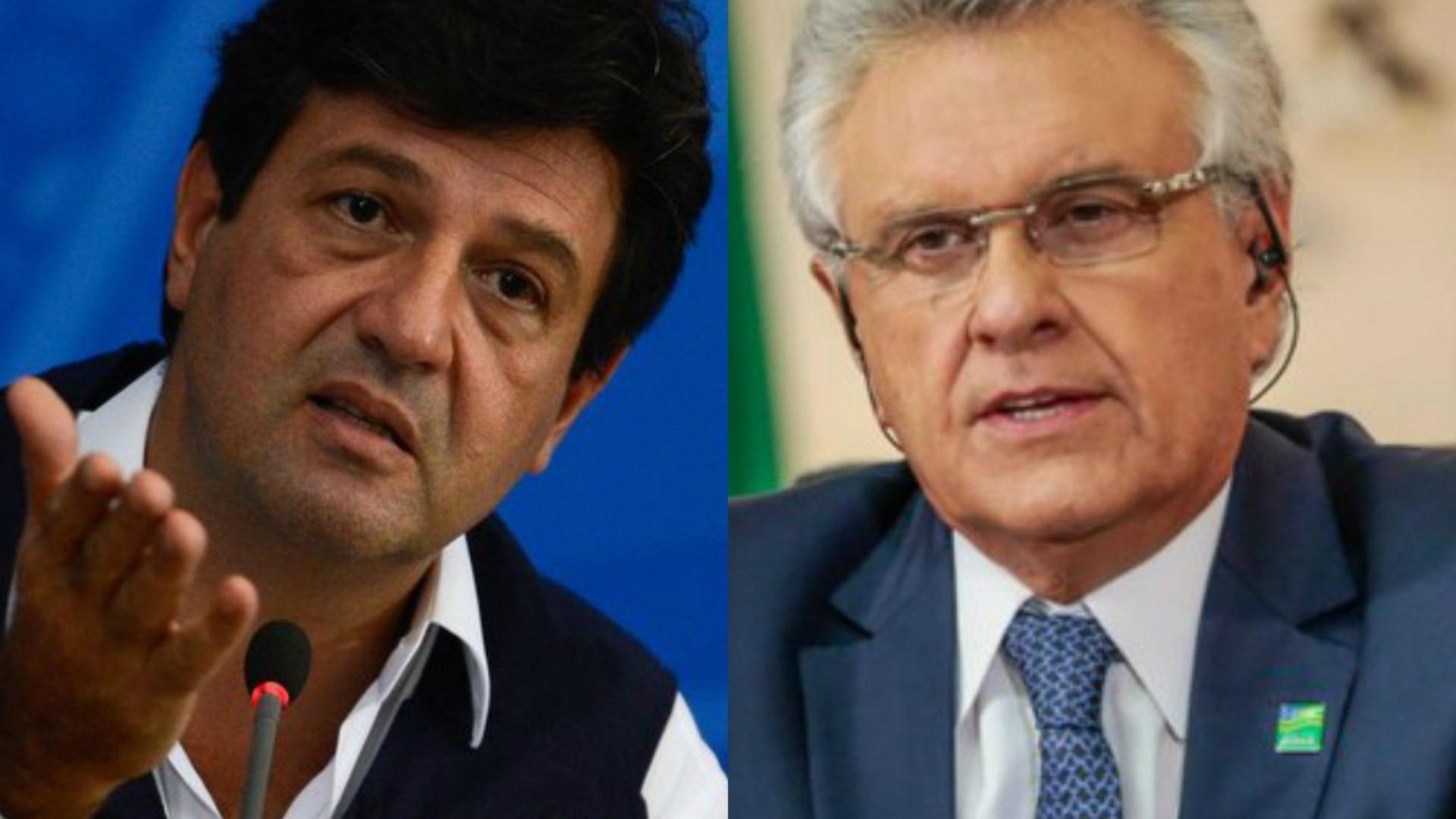 Ronaldo Caiado age rápido e Mandetta terá cargo de conselheiro nacional do DEM
