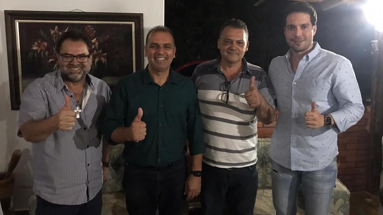 PSD de Trindade apresenta dois pré-candidatos a prefeito: Alexandre César e Dr. Dyego
