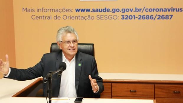 Goiás está preparado para flexibilizar isolamento a partir do dia 19 de abril, anuncia Caiado