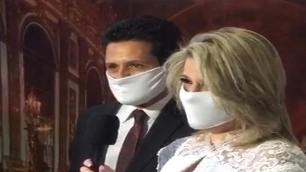 Casamentos em tempos de pandemia fazem uso de live