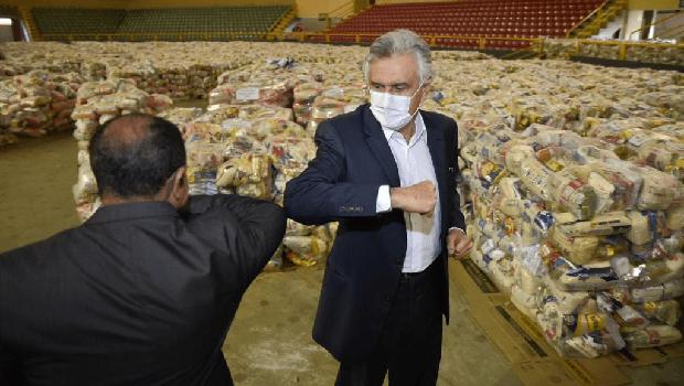 Governo recebe doação de mais mil cestas básicas para população em vulnerabilidade