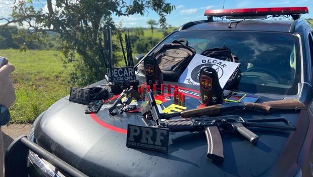 Três suspeitos de roubo de cargas morrem após abordagem policial