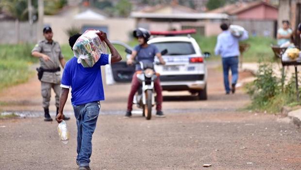 113 mil cestas básicas foram distribuídas nos 246 municípios goianos