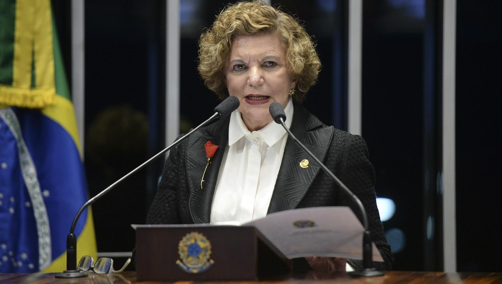 Aurélio Buarque de Holanda disse que Lúcia Vânia era a primeira-dama mais bonita do Brasil