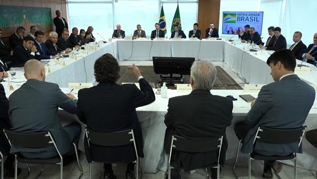 Reunião Ministerial Bolsonaro 22-4-2020 - Foto Reprodução Presidência da República