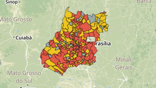 Goiás registra 60 novos casos de Covid-19 em 24h