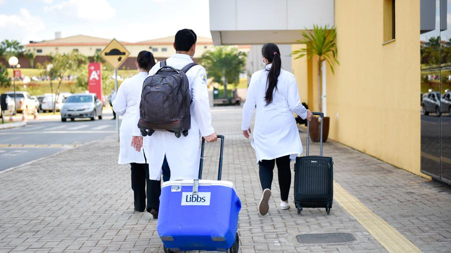 Força-tarefa realizou 11 captações e oito transplantes de órgãos na última semana em Goiás