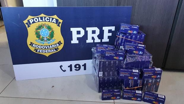 Hidroxicloroquina contrabandeada do Paraguai é apreendida pela PRF