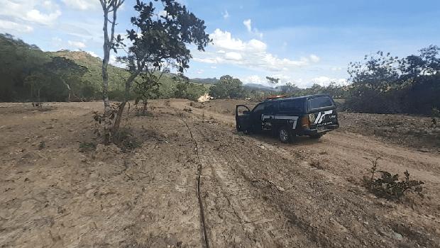 Dema localiza área de 30 hectares de desmatamento ilegal próximo a Niquelândia