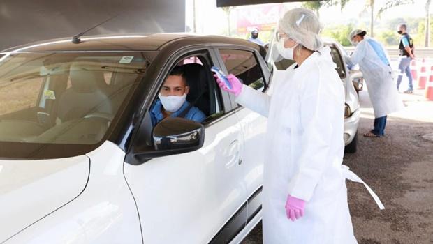 Trindade instala barreiras sanitárias contra o coronavírus
