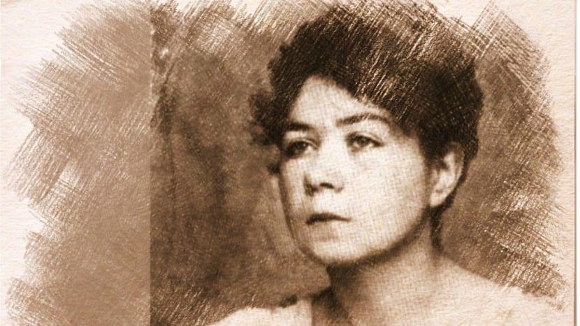 A poeta argentina Alfonsina Storni e o mar