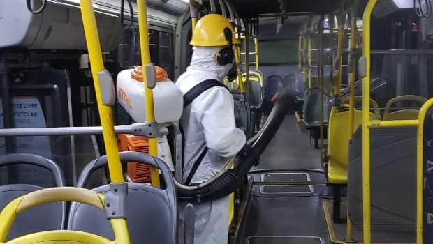 Metrobus intensifica higienização dos ônibus do Eixo Anhaguera