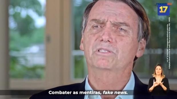 Jair Bolsonaro fake news propaganda eleitoral 2018 segundo turno - Foto Reprodução Poder360