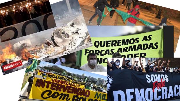 Em plena pandemia, sombra de golpe institucional volta a rondar o Brasil