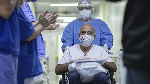 Dos 360 casos de Covid-19 registrados em Anápolis, mais de 160 estão curados