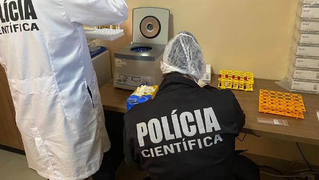 Governo estadual realiza testagem de Covid-19 em profissionais das forças de segurança