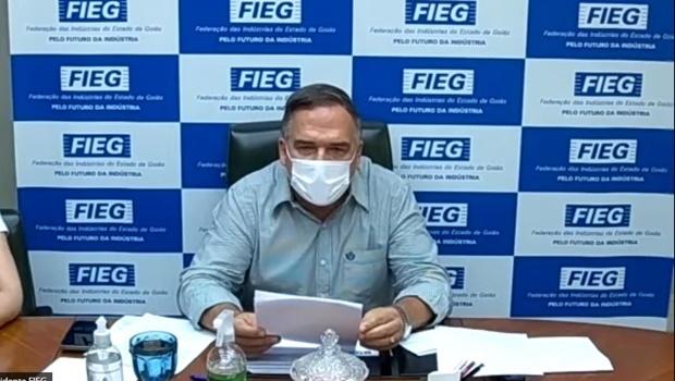 Presidente da Fieg se posiciona contra isolamento 14X14