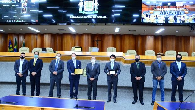 Sessão solene Secovi 40 anos Câmara de Goiânia - Foto Antonio Silva Câmara de Goiânia