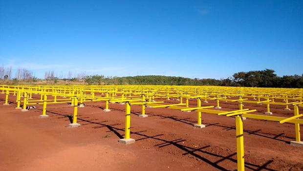 Empresa investe R$ 3,6 milhões em usina fotovoltaica no Distrito Agroindustrial de Morrinhos