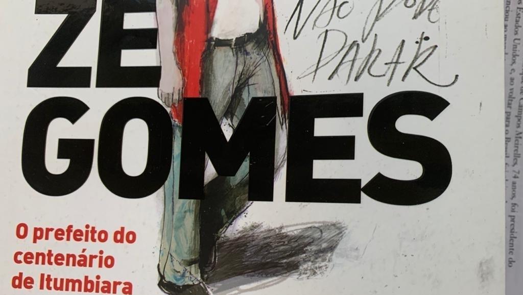 Livro conta a história de Zé Gomes da Rocha, prefeito de Itumbiara e deputado federal